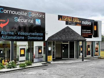 Showroom Espace Feu à Quimper
