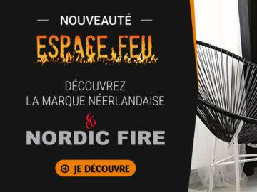 Nouveauté Espace Feu - Nordic Fire